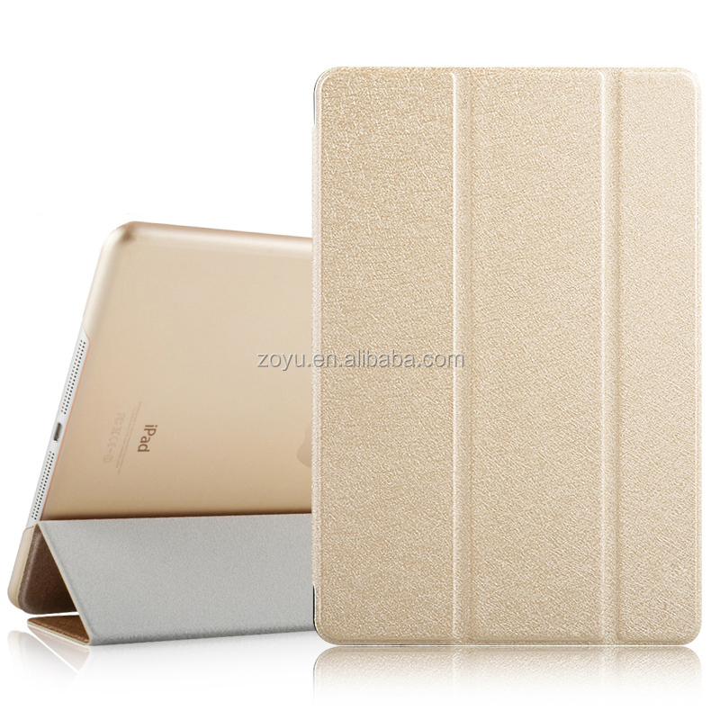 Hot New Product Folding Stand Leather Tablet Cover Case for iPad mini2, For Apple iPad mini3 7.9 Inch Case