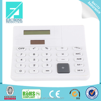 Fupu white desk calculator large screen calculator solar calculator