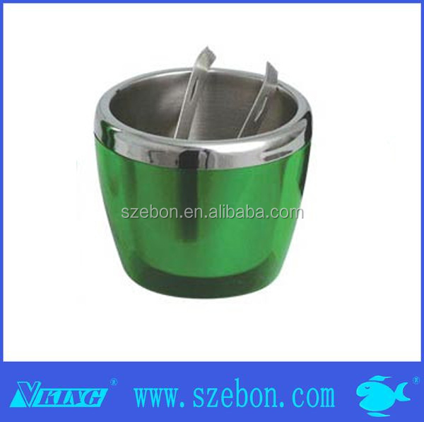 rational construction green Stainless steel foam apoice ice bucket