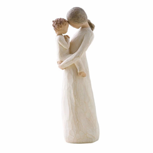 EXW Resin Figurines Mother and Son Statue mothers' day gift souvenir