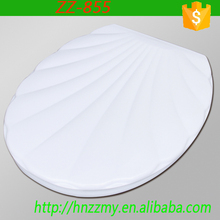 ZZ-855 The soft closing european elongated polyresin toilet seat brands