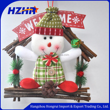 Wholesale Christmas garland for house decoration/creative hanging artificial pine garland christmas decoration