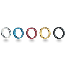 Adult Sex Toys New Colorful Multi Sizes Stainless Steel Lock Delay Premature Ejaculation Scrotum Penis Cock Ring for Man