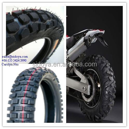 CHINA off road high quality tubeless motorcycle tyres manufacturer
