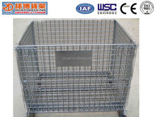 ISO9001 Verified Steel Galvanized Wire Mesh Cage