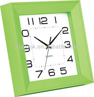 Decorative Wall Clock Green Frame Wholesale