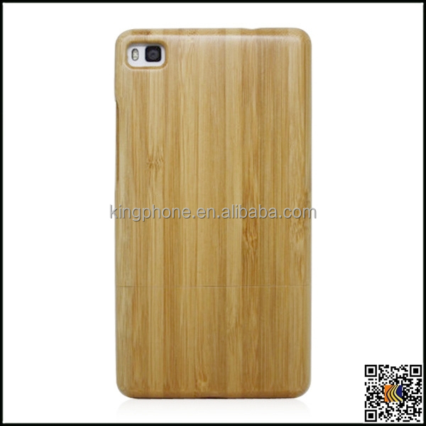 Custom your own cell phone case wood laser graving available for Huawei P8