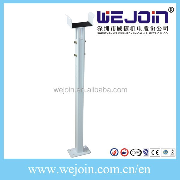 Automatic Barrier Gate with Support Pole for Parking System