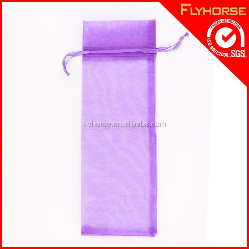 Factory directlly sale net fabric christmas gift bags