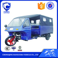 petrol semi-closed cabin wholesale passenger trike
