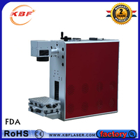 Factory portable mini fiber laser marking machine for stainless steel price
