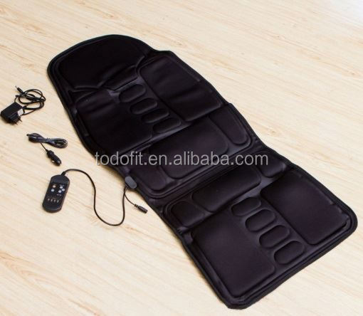 10 Motors Infrared Heat Vibration Massage Cushion