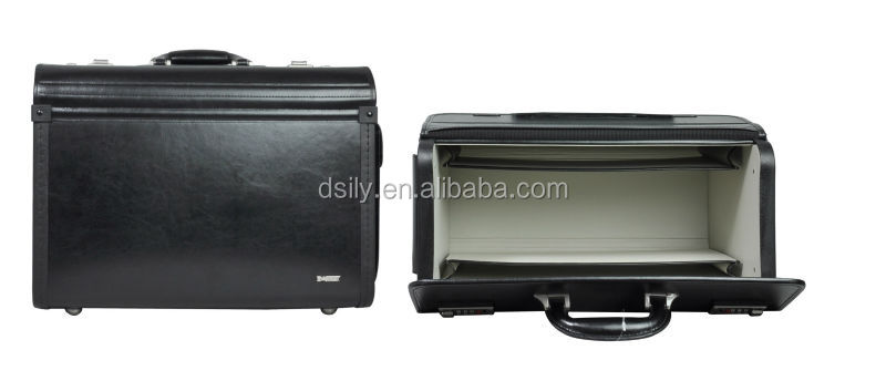 Leather Pilot Case Black X8006S140010