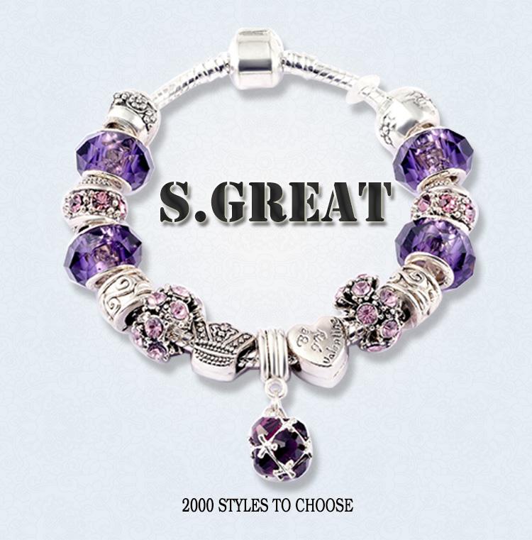 Imitation Jewelry Fit Pandora Bracelet Jewelry Replica
