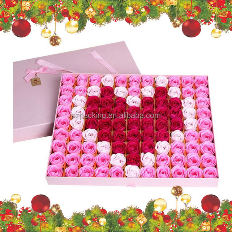 NEW DESIGN Fashion beautiful hot Christmas Decorative Chocolate Boxes