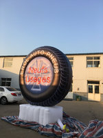 new giant advertisment inflatable tire replicate