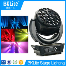 28X25W RGBW 4 in 1 stage light zoom moving head led wash