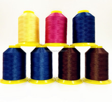 100% polyester embroidery thread 120D/2, 4000M