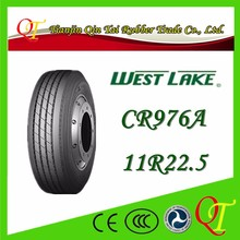 China famous brand tire manufacturing high quality West Lake tire 11r22 5 truck tire