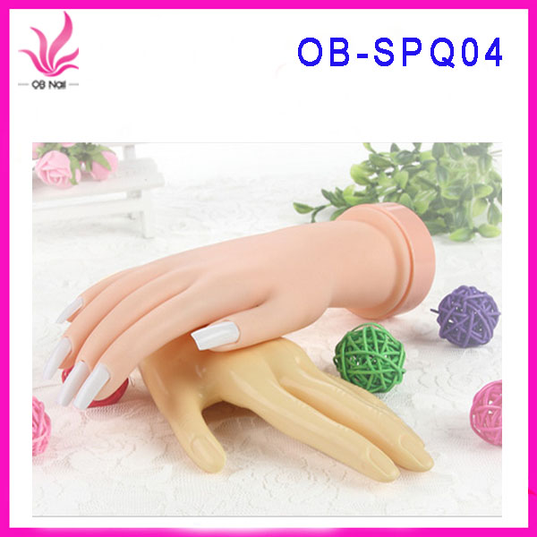 High Quality Hand Model Nail Art Training Hand For Practice,Soft ...