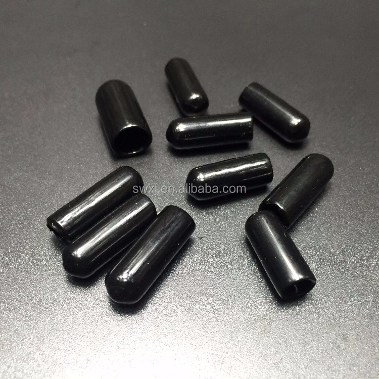 FDA powder coating silicone rubber bottle plugs round caps components