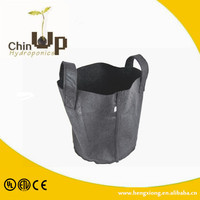 indoor greenhouse grow nonwoven agriculture plant pot cover/top quality fabric planting pot bags