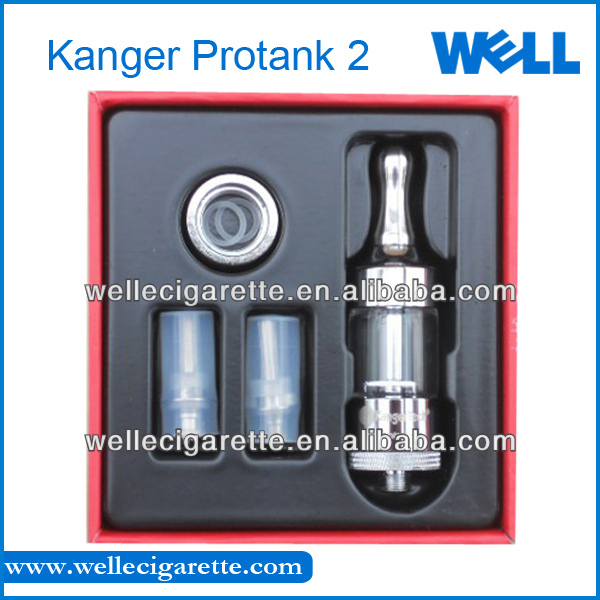 Kanger Protank 2 IN STOCK! 2014 Hottest Ecig Tank Genuine Kanger Protank 2 Huge Vapor All Parts Replaceable Kanger Protank 2