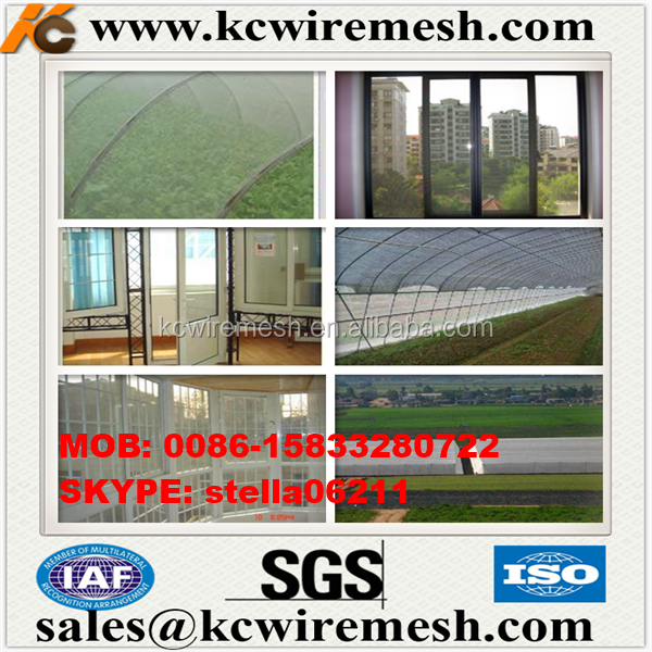 Factory!!!!!! KangChen Polyethylene Window Screen/PP Window Netting/ISO Factory