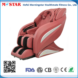 Good Looking L Shape Electric Massage Chair PU Leather Cover