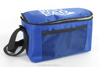 Portable beach beer can wine lunch insulated cooler bag