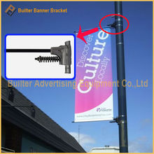 light pole advertising/advertasing sign bracket for pole banner