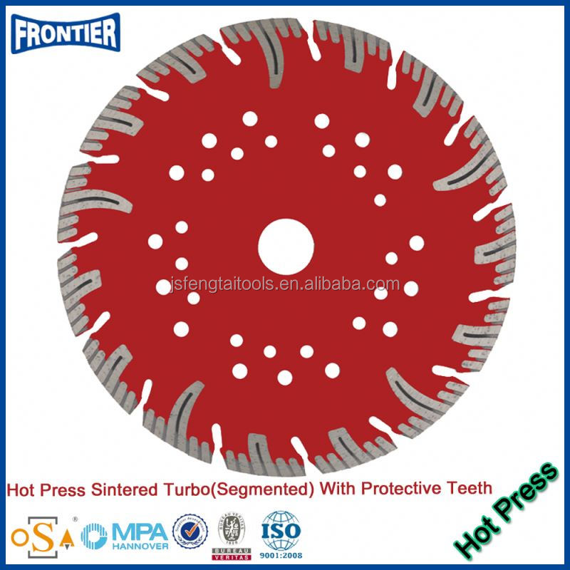 Hot pressed circular 5 inch diamond saw blade / diamond cutting wheel for granite