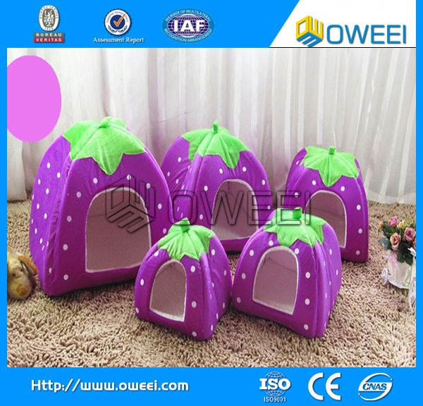 New style pet toy soft dog house with best price