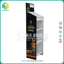 HIC alcohol display stand, beer caidboard display holder