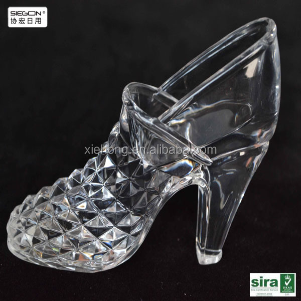 Acrylic craft of high heel shoes display