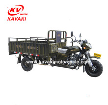 China Suppliers Lifan 200CC Cargo Tricycle Two Seats Adult Tricycle