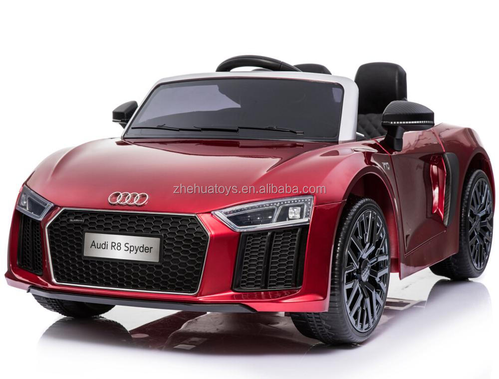 AUDI R8 Licensed Ride On Electric Toy Car For Kids To Drive
