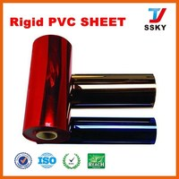 Rigid glue PVC sheet for id card