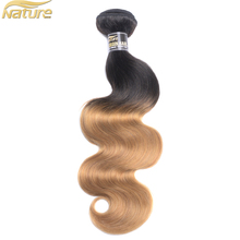 NatureHERE Wholesale human hair virgin brazilian ombre tangle free shed free loose body wave hair