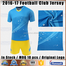 Breathable sports jersey new model slim fit men training tracksuits cheap plain soccer uniform youth quick dry soccer jersey