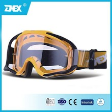 TPU Frame Clear Lens MX Goggles Motorcycle Goggles