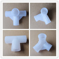 Injection Molding Plastic Elbows , Plastic Pipe Fittings