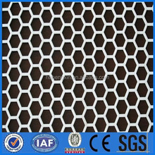 easy install hexagonal hole punching mesh made in china