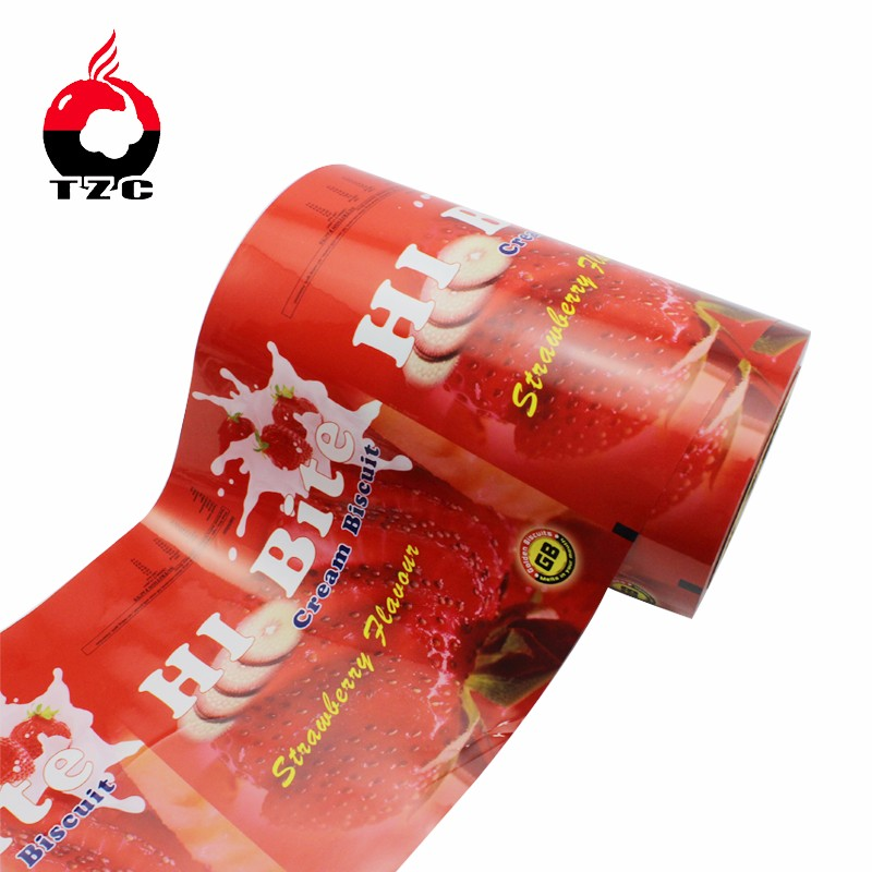 aluminum foil laminated food packaging plastic roll film