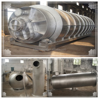 Practical Fully Automatic Continuous Waste Tyre Pyrolysis Plant /Medical Waste Plastic Recycle Machine for Sale