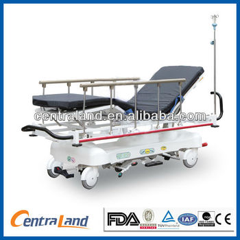 Luxurious Hydraulic Rise-and-Fall Stretcher Cart /Patient Trolley