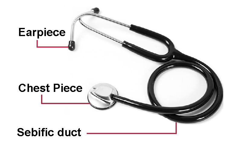 2018 professional hot sale medical use dual head stethoscope for sale stethoscope for hospital