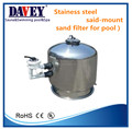 2017 304ss good quality swimming pool filter for stainless steel
