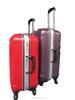 Best sell Hard durable silver abs travel luggage with aluminum frame (DC-7009)