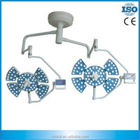 Ceiling Dual Dome Operation theatre light led surgical lamp LED0505-3